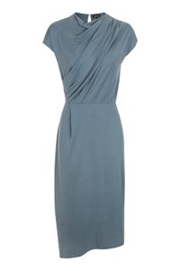 Blue Grey Maxi Dress by Topshop