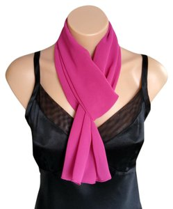 Other Fushia Skinny Scarf