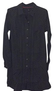 Tommy Hilfiger short dress Navy blue polka dot Preppy on Tradesy