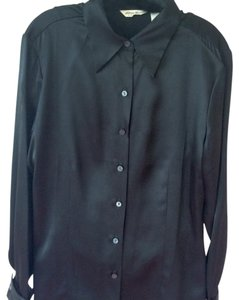 Eddie Bauer Silk Top black