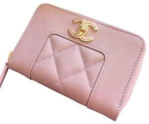 Chanel Chanel Sheepskin Card Case
