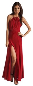 Red Maxi Dress by Stone Cold Fox Maxi Boho Long Gown
