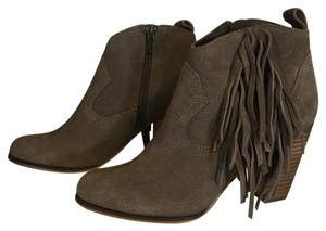 Steve Madden taupe suede Boots