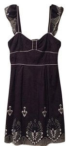 Nanette Lepore short dress navy blue on Tradesy