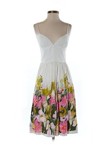 Trina Turk short dress Floral Sweetheart Empire Waist on Tradesy