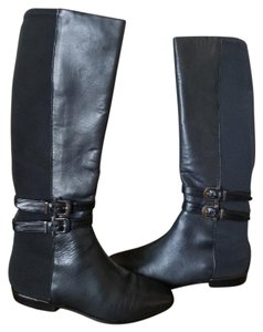 White House | Black Market Leather Riding Equestrian Black Boots