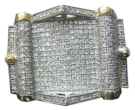 Preload https://item2.tradesy.com/images/10k-yellow-gold-large-mens-pave-setting-diamonds-ring-size-11-2069496-0-0.jpg?width=440&height=440
