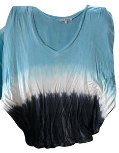 Red Haute Top Blue, white, black