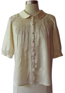 Vince Button Down Shirt ivory