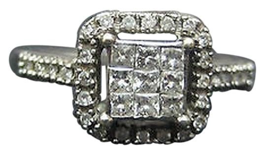 Preload https://item2.tradesy.com/images/14k-white-gold-princess-cut-invisible-set-round-diamonds-ladies-ring-size-65-2069516-0-0.jpg?width=440&height=440