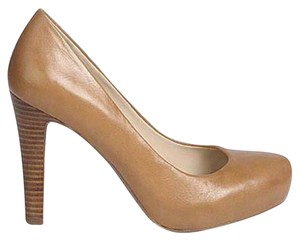 Franco Sarto Nude Workwear Natural Pumps