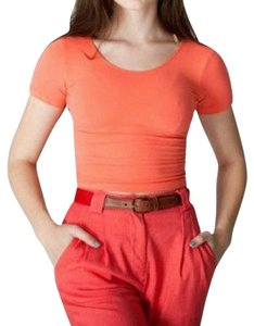 American Apparel T Shirt Coral