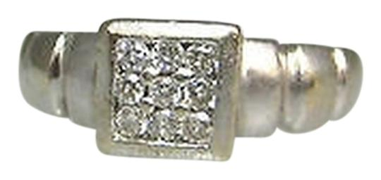 Preload https://item2.tradesy.com/images/14k-white-gold-9-diamonds-small-ladies-ring-size-425-2069526-0-0.jpg?width=440&height=440