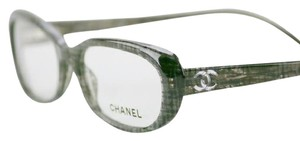 Chanel Eyeglasses 3186 1208 New-Tags-Case-Cloth CHANEL Black Tweed
