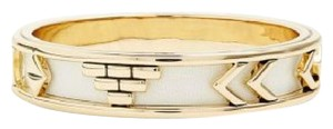 House of Harlow 1960 House of Harlow Aztec Bangle with White Leather.