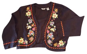 Other Embroidery Linen Black Edward Black multicolor Blazer
