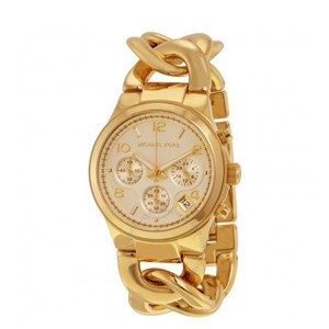 Michael Kors MICHAEL KORS Runway Twist Chronograph Gold-tone Ladies Watch