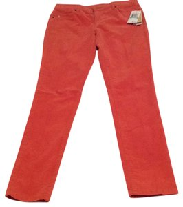 Michael Kors Skinny Pants Orange Spice