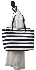 Kate Spade Tote in offshore cream stripe