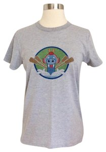 American Apparel T Shirt Heather Gray