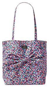 Kate Spade Cedar Street Small Hayden Red White Leather Satchel in dance party tote
