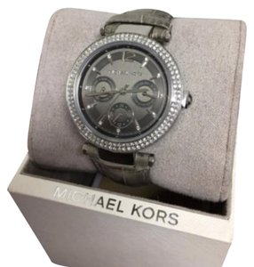 Michael Kors Michael Kors Parker Grey Dial Ladies Multifunction Watch MK2544