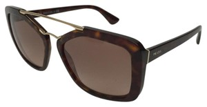 Prada Prada Havana Double Bridge Sunglasses