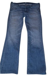 7 For All Mankind Size 31 Wash Boot Cut Jeans-Medium Wash