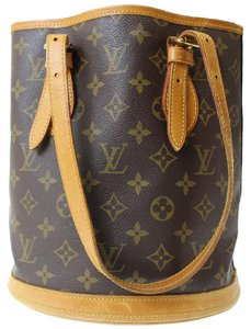 Louis Vuitton Lv France Handbag Monogram Tote in Brown Monogram