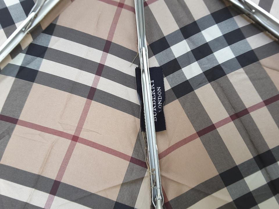 3059466273c4 Burberry Trafalgar Packable Check Umbrella Image 9. 12345678910