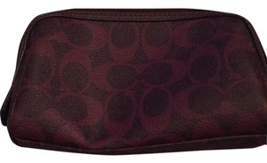 Coach coach make-up bag
