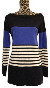 Kate Spade Nautical Cozy Boatneck Bateau-neck High-low Sweater