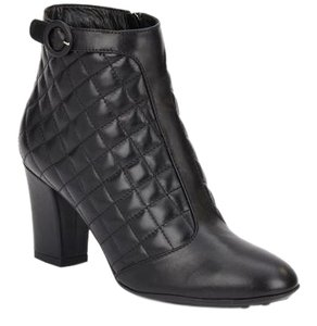 Aquatalia by Marvin K. Leather All-weather Fashion Black Boots