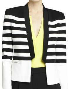 BCBGMAXAZRIA Black and white Blazer