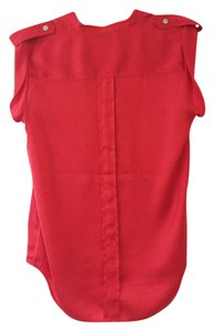A|X Armani Exchange Top Ruby red