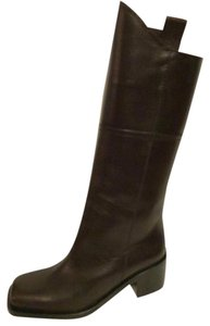 Chanel Cowboy Western Dallas Brown Boots