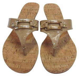 Bandolino New Size 8.00 M Excellent Condition Neutral Sandals