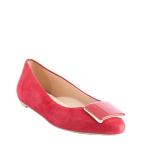Tod's Pink Red Flats