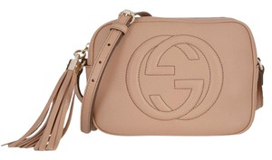 Gucci Disco Soho Nude Disco Gg Shoulder Bag