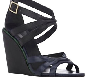 See by Chloé Navy blue Wedges