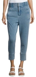 Helmut Lang Sweatpant Couture Relaxed Pants Blue