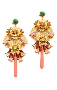 Elizabeth Cole Elizabeth Cole Statement Flower Earrings