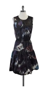 Cynthia Rowley short dress Multi Color Print Sleeveless on Tradesy