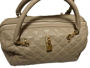 Marc Jacobs Satchel in Grey / Taupe