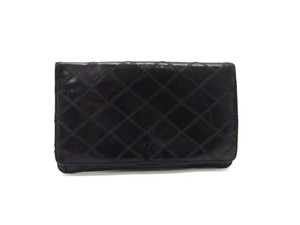 Chanel Quilted Bifold Flap Wallet 214973