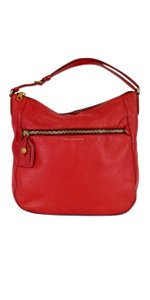 Marc by Marc Jacobs Coral Leather Hobo Bag