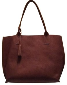 Bubo Leather Tote in Ginger