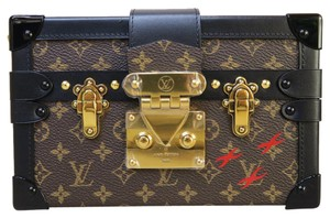 Louis Vuitton Lv Petit Malle Canvas Cross Body Bag
