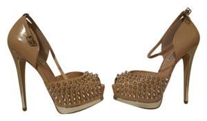 Steve Madden Heels Spike Spike Stiletto Heels Madden Obstacle nude blush multi Pumps