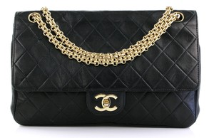 Chanel Mademoiselle Madamoiselle Classic Flap Quilted Flap 2.55 Shoulder Bag
